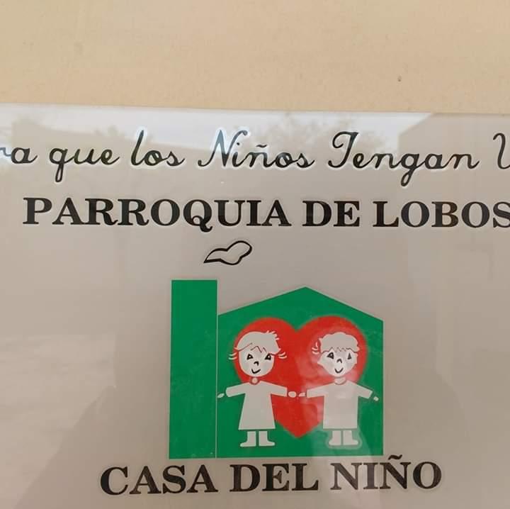 Lasagna casera o Pollo con Rusa a beneficio de la Casa del Niño Parroquial.