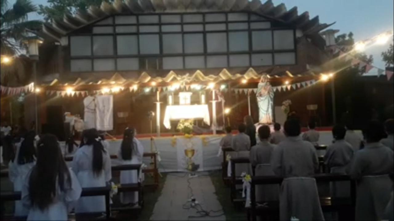 Misas de Navidad en San Vicente Pallotti.